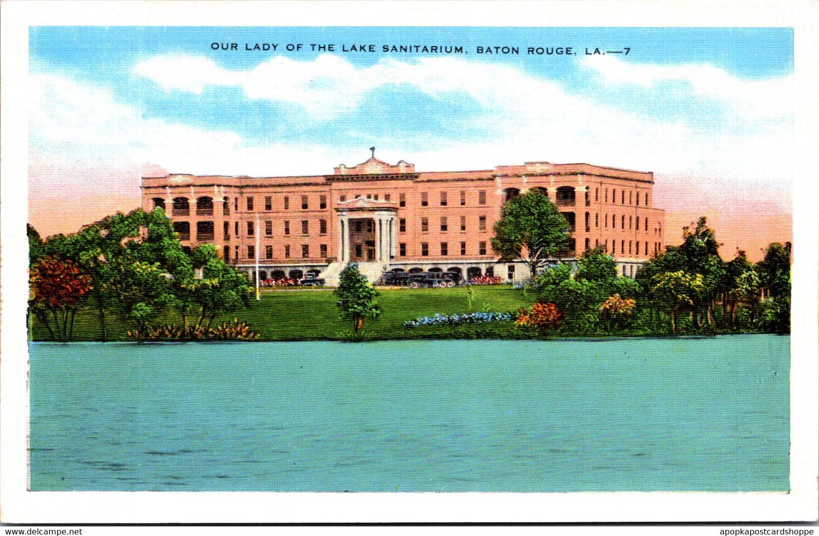 Louisiana Baton Rouge Our Lady Of The Lake Sanitarium - Baton Rouge