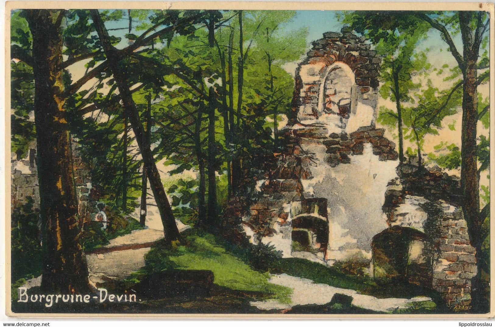 *, Gest. Hammer Am See Burgruine Devin Konvolut Von 6 AK's - Schlesien