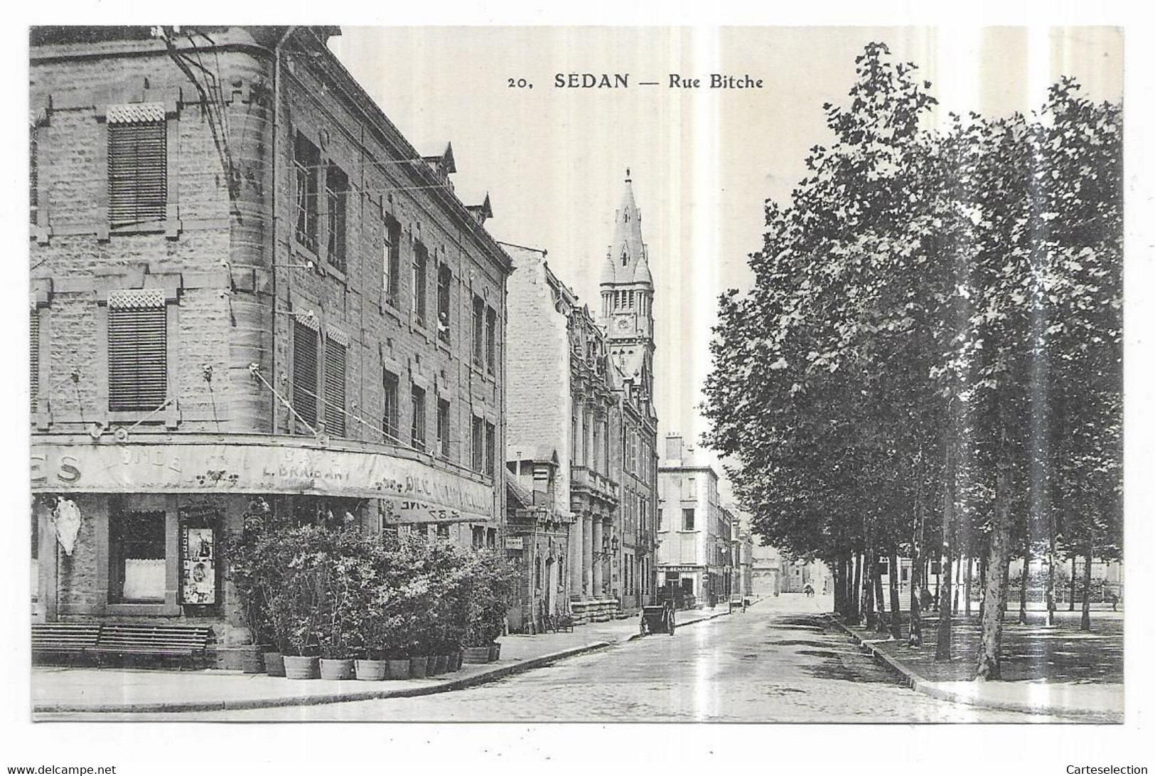 Sedan Café Rue Bitche - Sedan