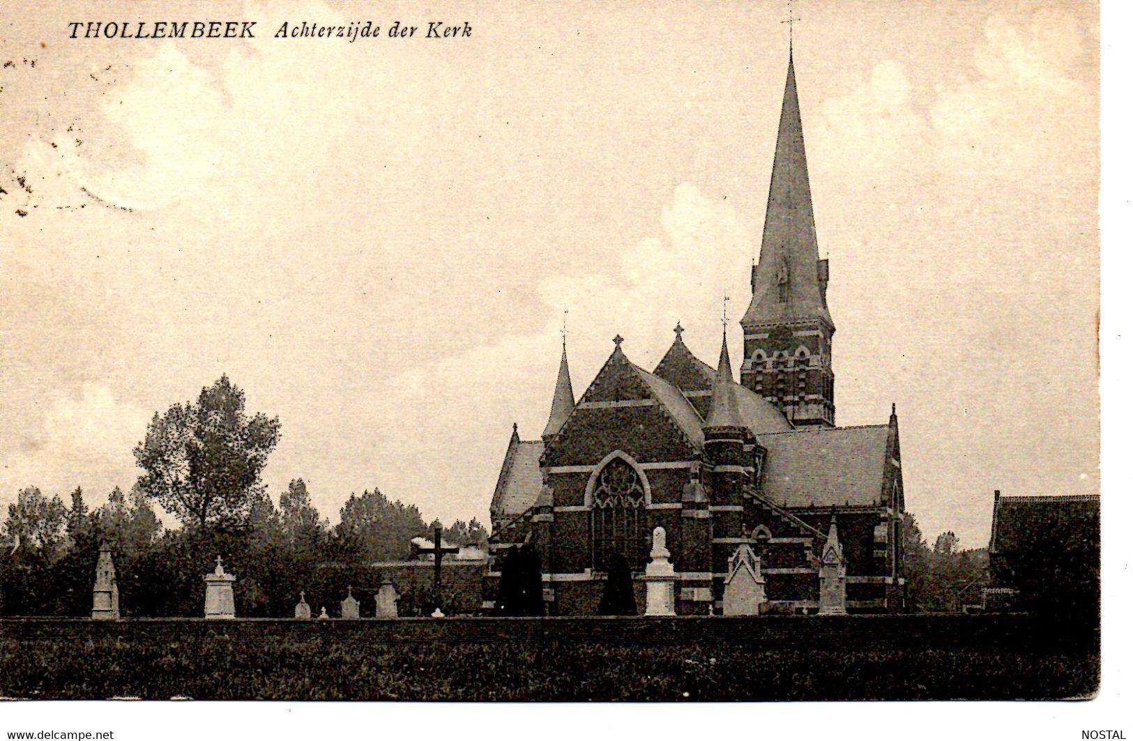 J 12  Thollembeek: Achterzijde Der Kerk - Galmaarden