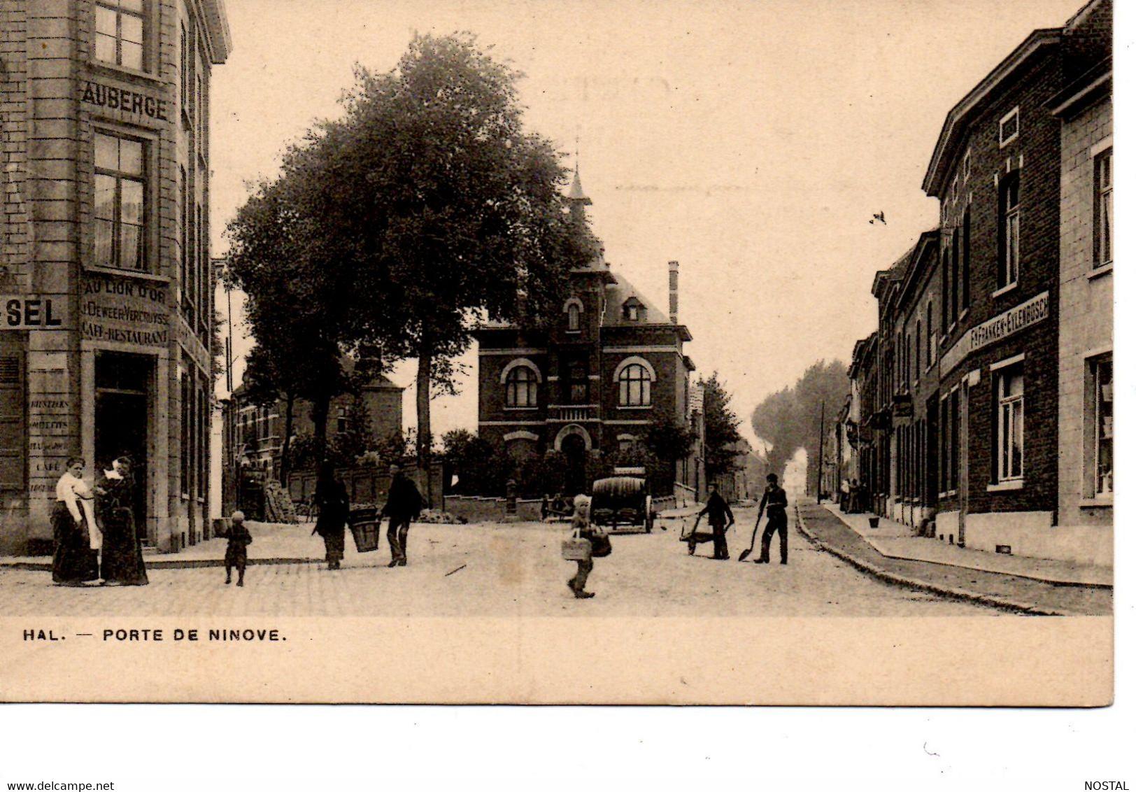 J 18. Hal: Porte De Ninove - Halle