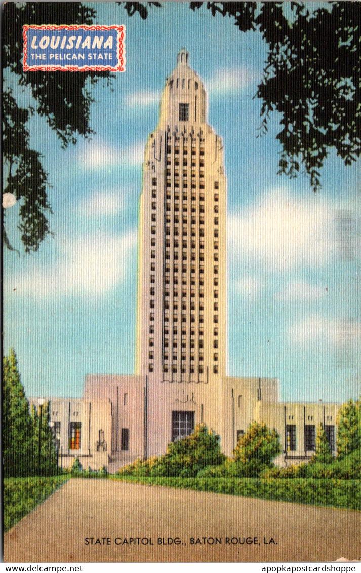 Louisiana Baton Rouge State Capitol Building - Baton Rouge