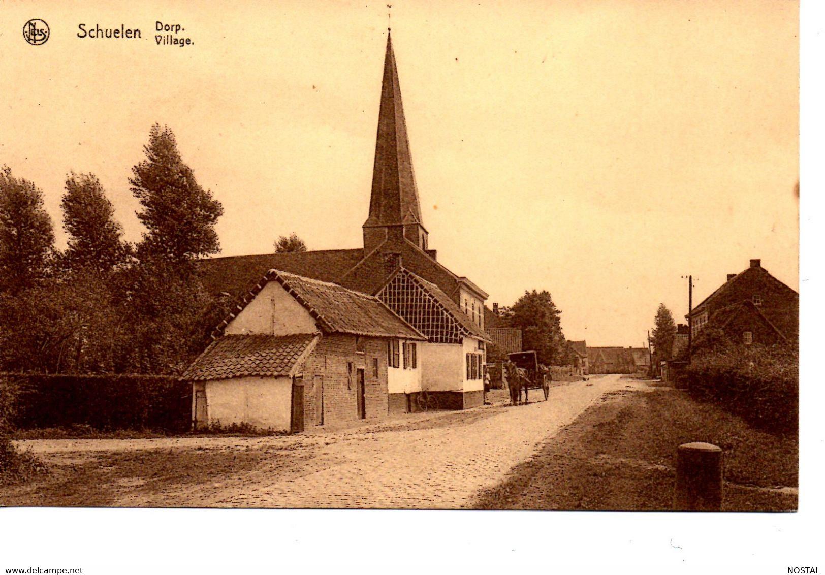 J 25. Schuelen : Dorp - Herk-de-Stad