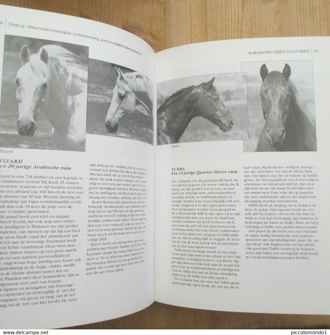 De Persoonlijkheid Van Uw Paard Ttouch Methode Linda Tellington Jones Tirion 184 Blz Mooie Staat - Practical