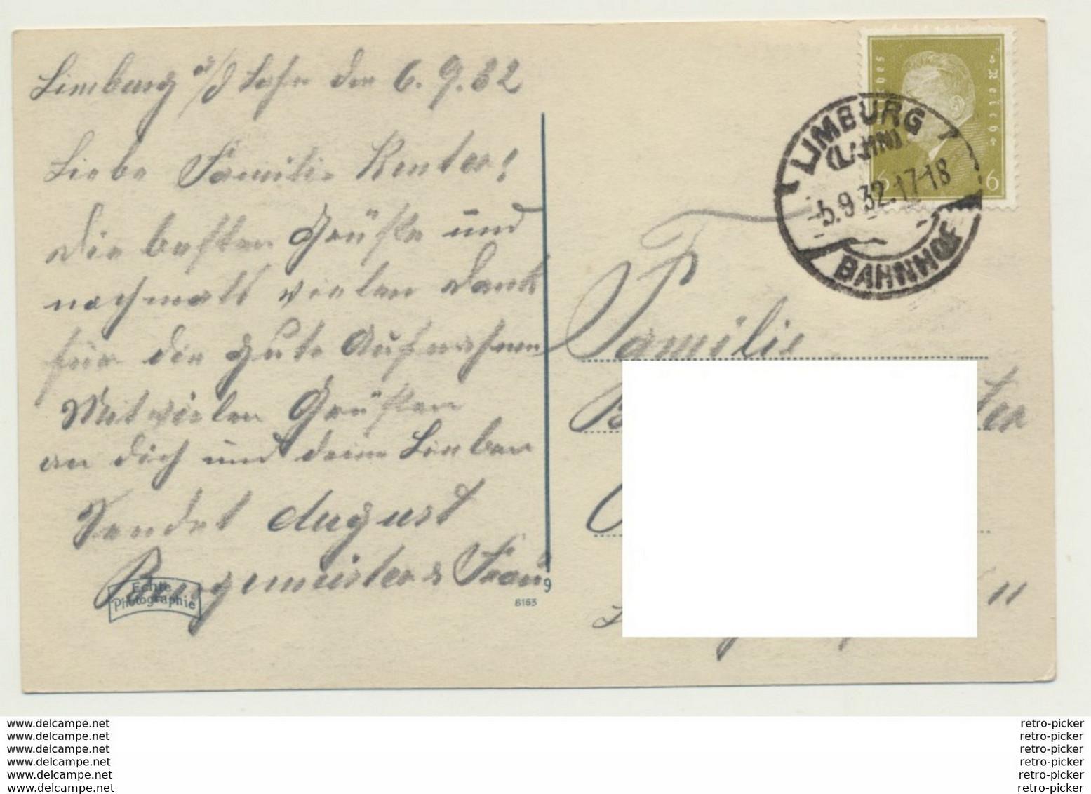 AK  Limburg An Der Lahn 1932 - Limburg