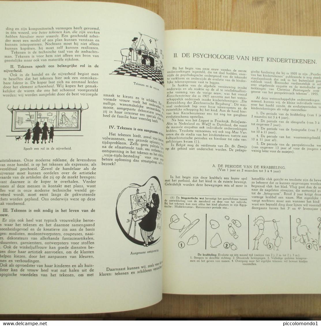Gradueel Tekenen En Schilderen Heuninckx 5000 Tek 235 Blz Jaren 60 Mooie Staat - Practical