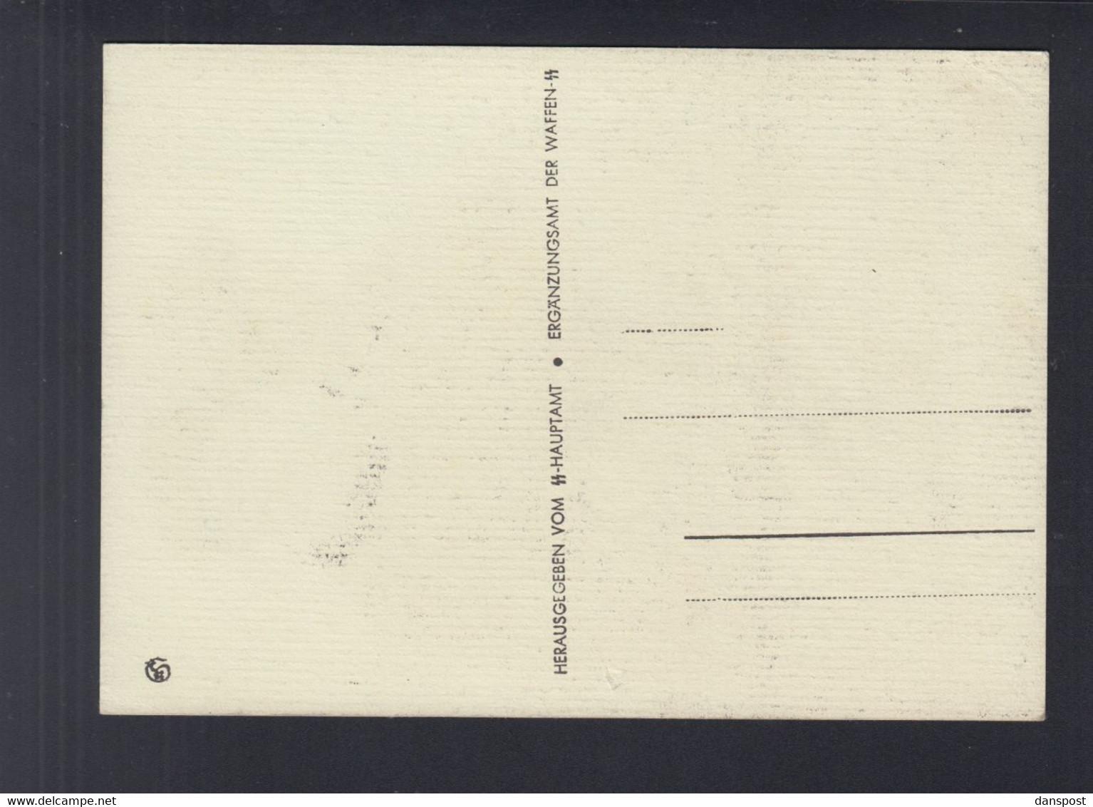 Dt. Reich PK Dt. Jugend Meldet Sich Freiwillig Zur Waffen SS - Weltkrieg 1939-45