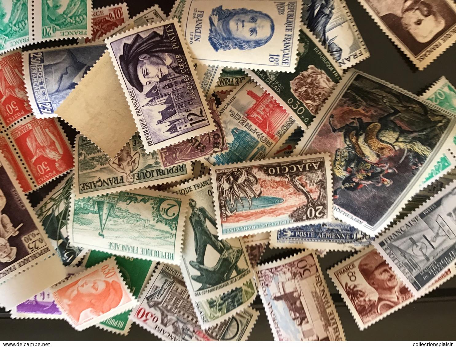 TOUT DOIT DISPARAÎTRE PLUS DE 6000 TIMBRES MONDE ET FRANCE LIQUIDATION DE MES DERNIERS TIMBRES - Collections (without Album)