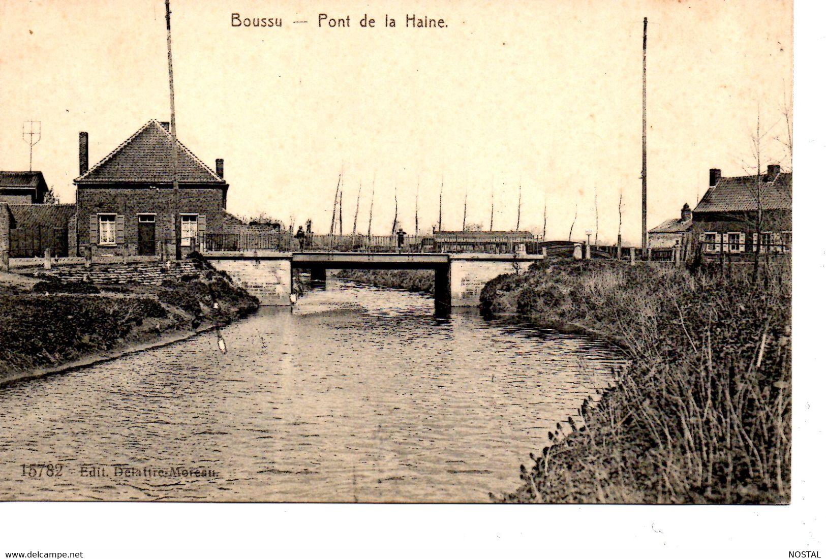 J 36. Boussu: Pont De La Haine - Boussu