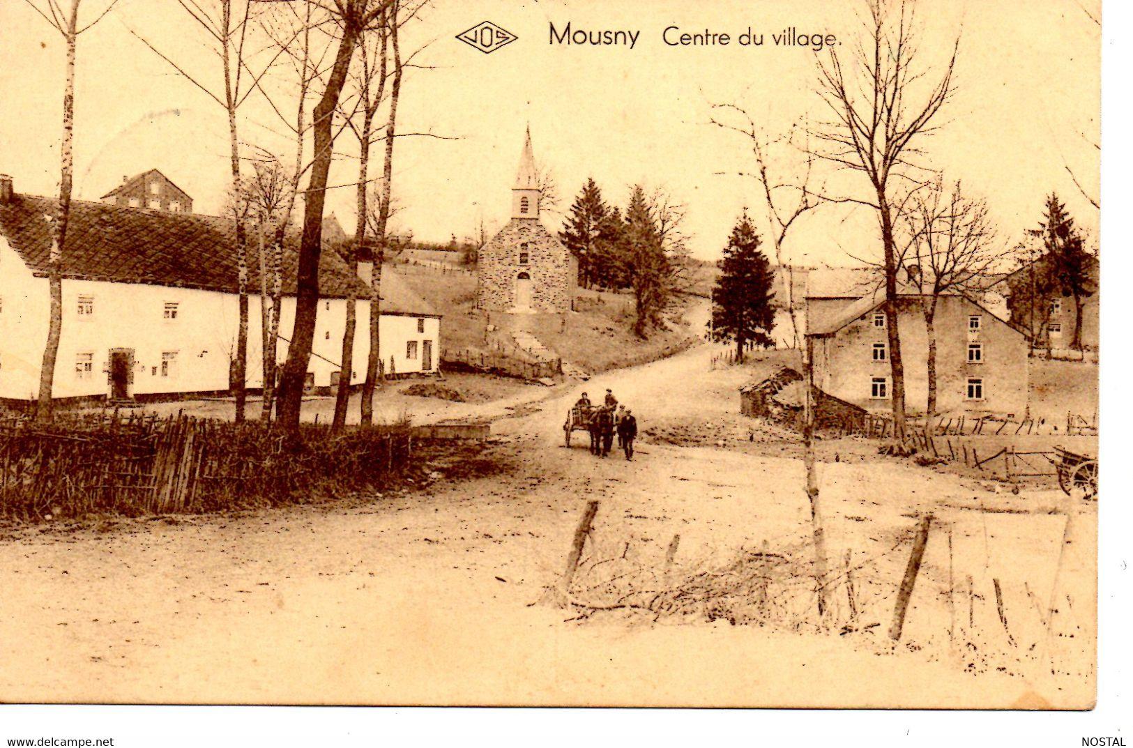 J 53.Mousny: Centre Du Village - La-Roche-en-Ardenne