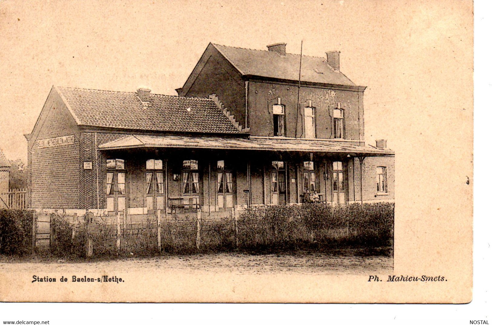 J 57.Baelen S/Nethe: Station - Balen