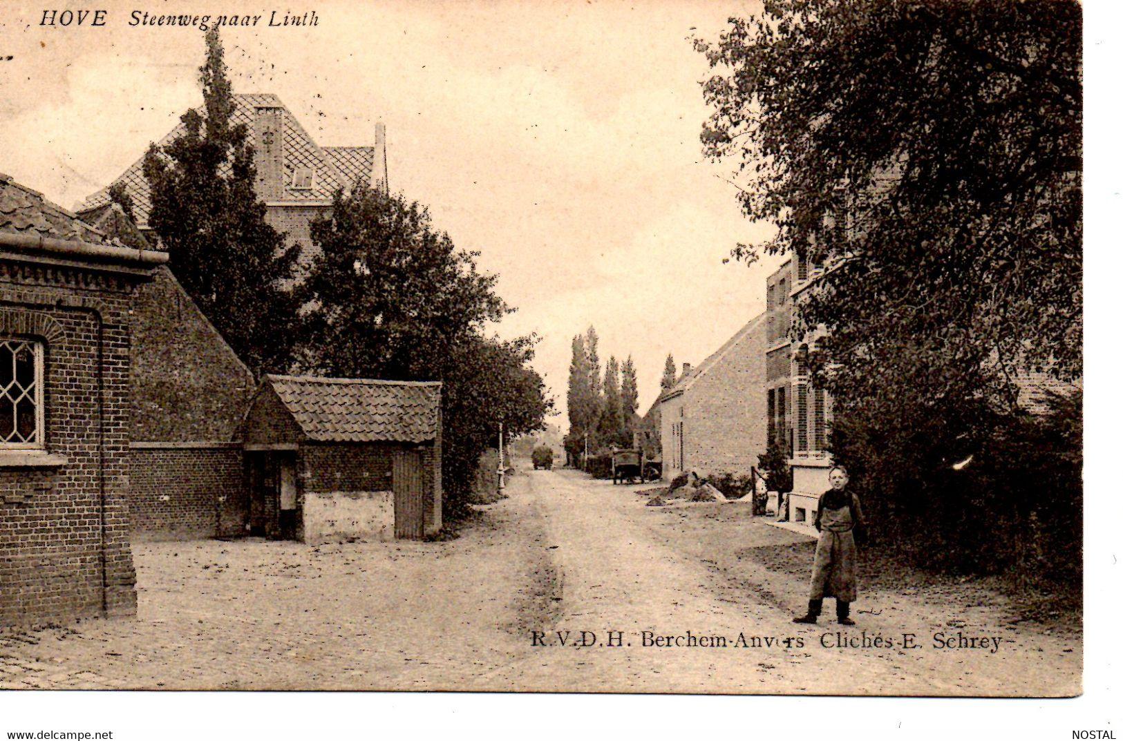J 59. Hove: Steenweg Naar Linth - Hove
