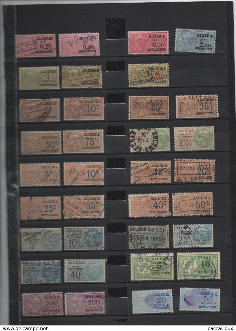 Timbres  Fiscaux - Andere