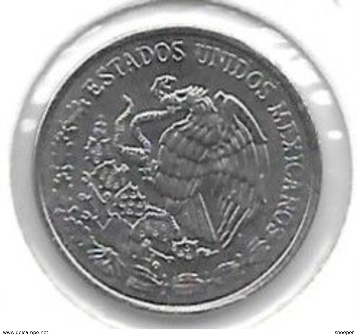 *mexico 10 Centavos 1995 Km 547  Bu/ms65 - Mexico