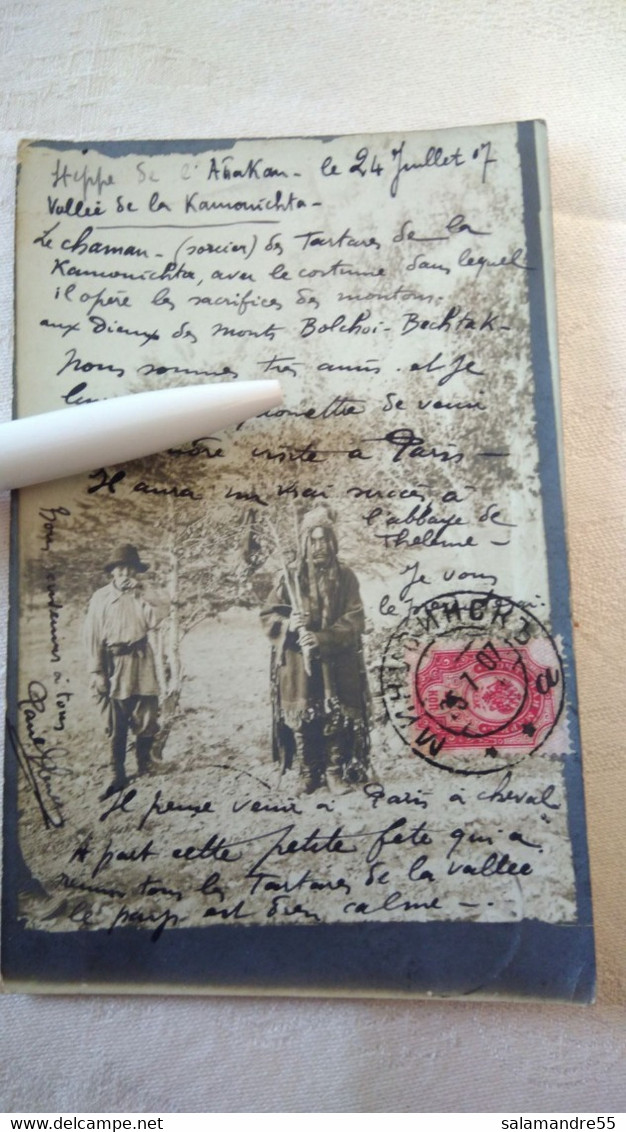 Mission Militaire 1907   Sibérie Paul Pléneau  Charcot  Bolchoi Mine Amiante   Russie Oural Abakan Kamouichta Tartares - Missioni