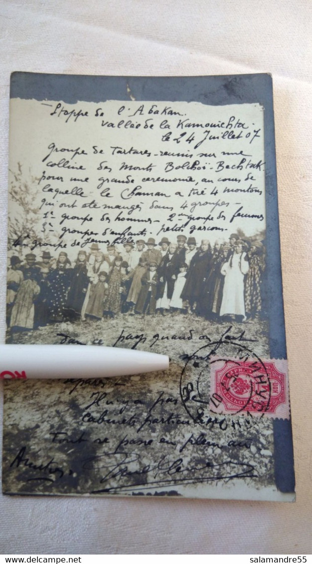 Mission Militaire 1907   Sibérie Paul Pléneau  Charcot  Bolchoi Mine Amiante   Russie Oural Abakan Kamouichta Tartares - Missionen