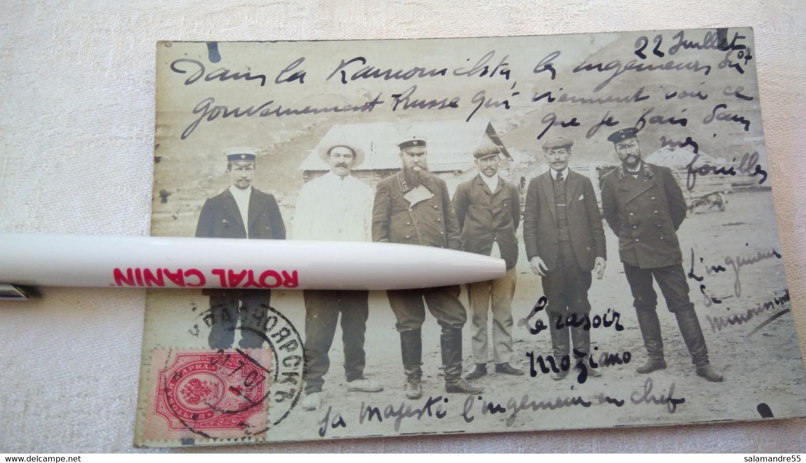 Mission Militaire 1907   Sibérie Paul Pléneau  Charcot  Bolchoi Mine Amiante   Russie Oural Abakan Kamouichta Tartares - Missie