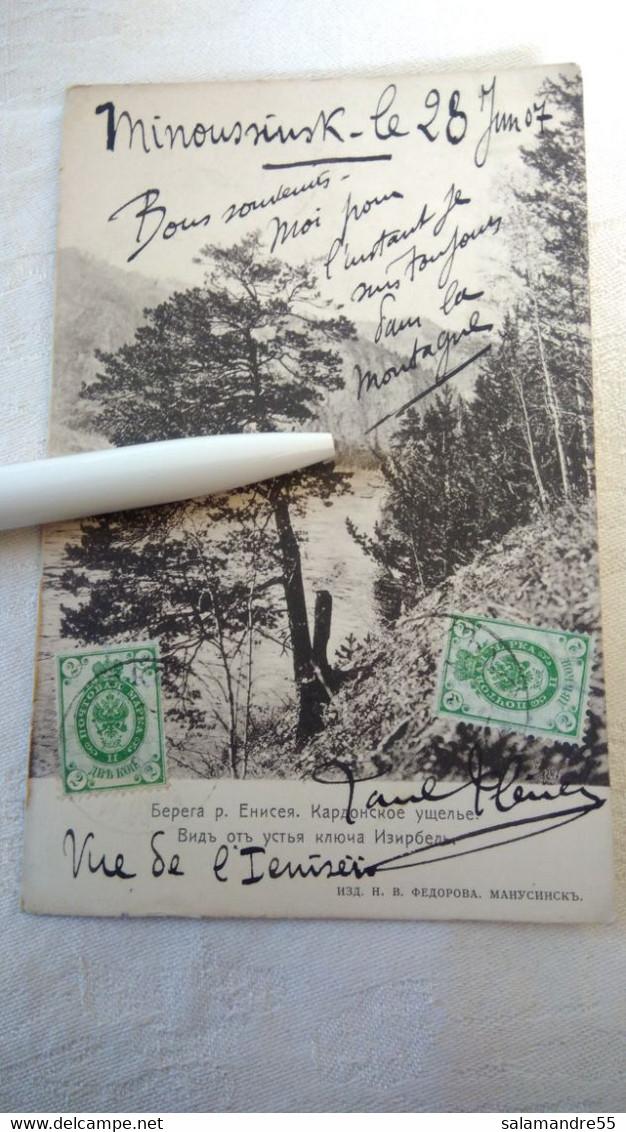 Mission Militaire 1907   Sibérie Paul Pléneau  Charcot  Bolchoi Mine Amiante   Russie Oural Minoussinsk Ienissei - Missions