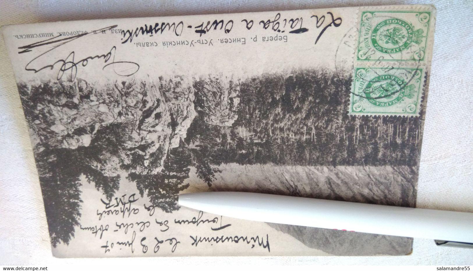 Mission Militaire 1907   Sibérie Paul Pléneau  Charcot  Bolchoi Mine    Russie Oural Minoussinsk Ienissei Oussinski - Missions