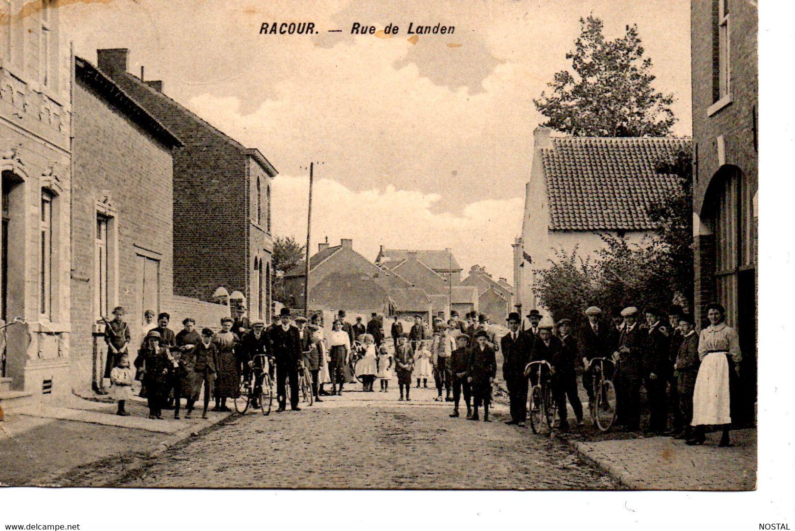J 83.Racour: Rue De Landen - Lincent