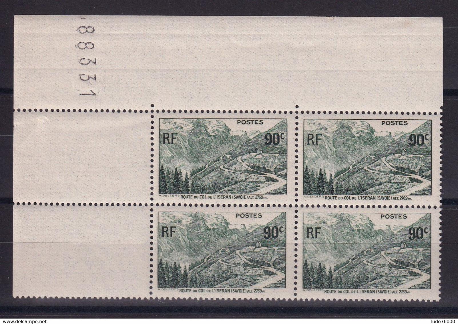 D 153 / LOT N° 358 BLOC DE 4 NEUF** COTE 16€ - Verzamelingen
