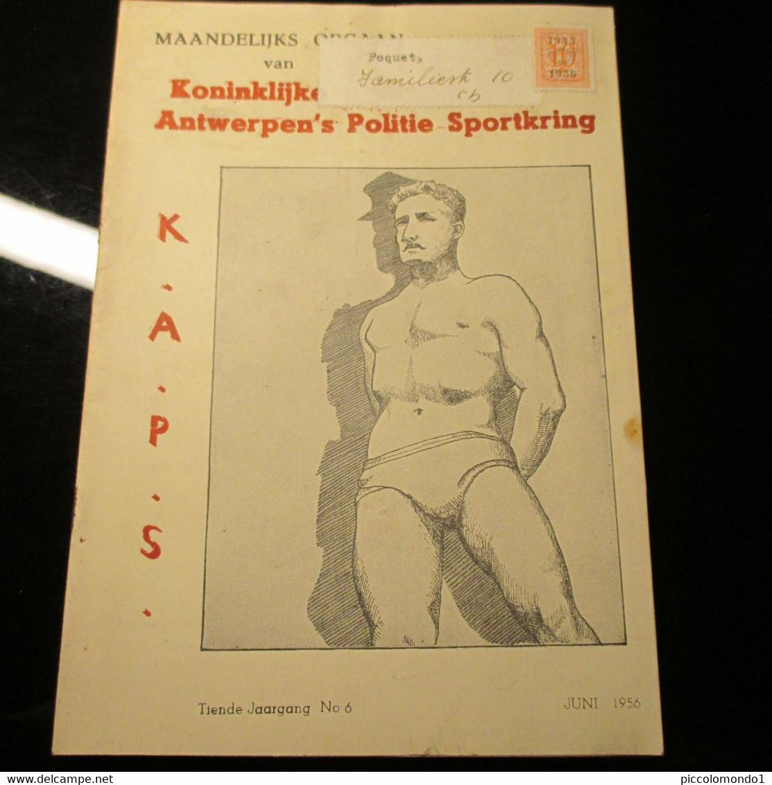 Antwerpen Politie Sportkring 1956 Groot Antwerpen Compagnie Maritime Congolaise - Practical