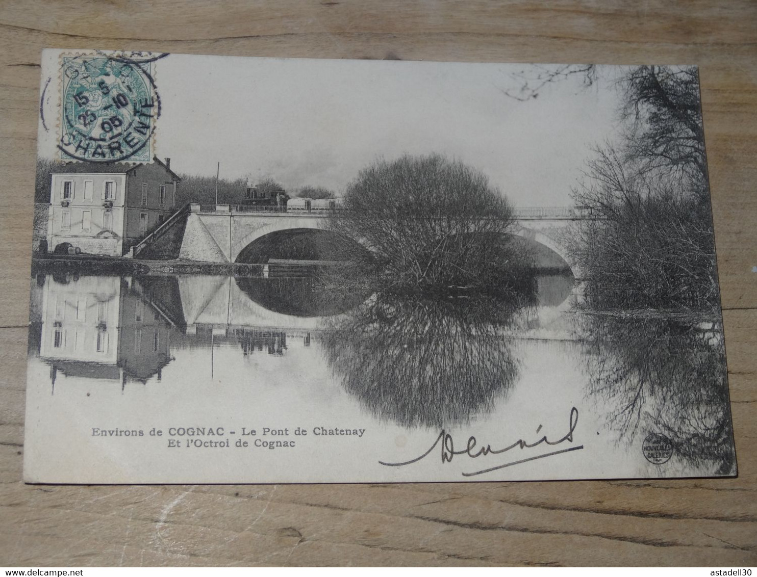 Le Pont De CHATENAY Et L'octroi De Cognac ............. 201101d-3755 - Sin Clasificación