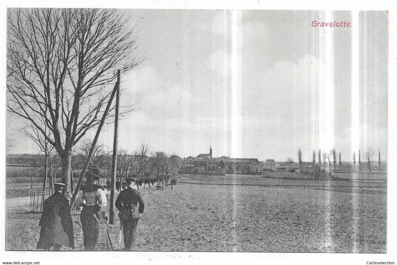 Gravelotte Soldats Allemands Edition Frings & Garms, Vorm. C. Bernhoeft, Luxemburg - Altri Comuni