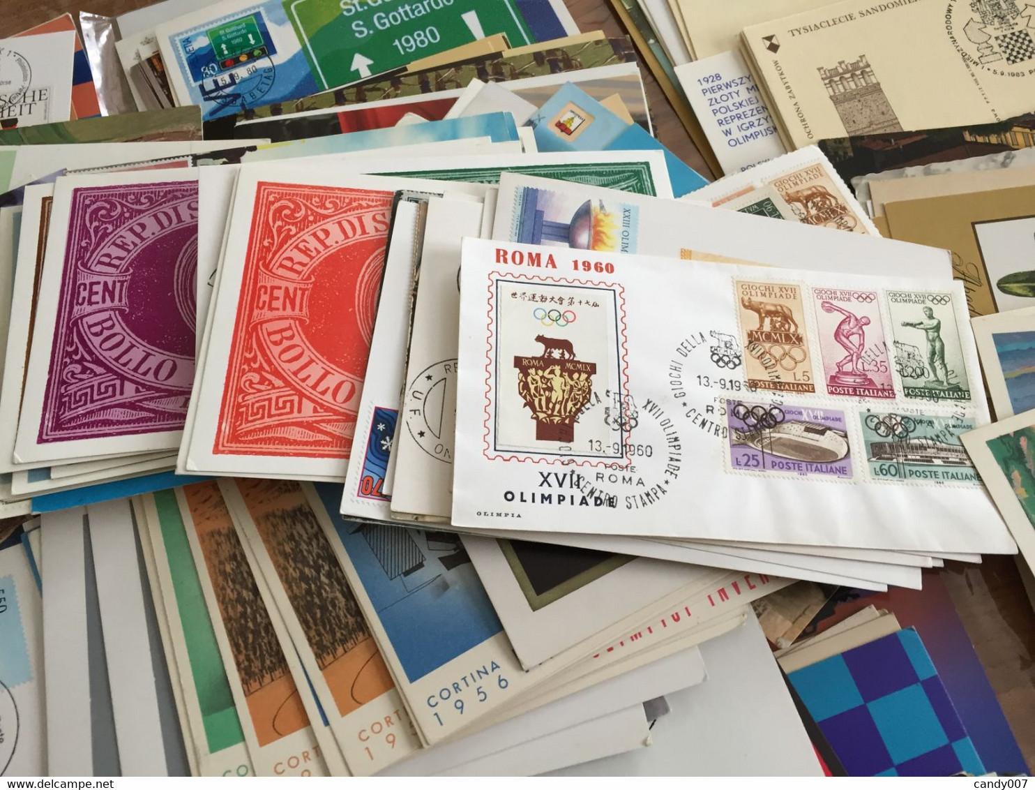 GROS LOT DE DOCUMENT POSTAL VOIR DETAIL - Lots & Kiloware (mixtures) - Min. 1000 Stamps