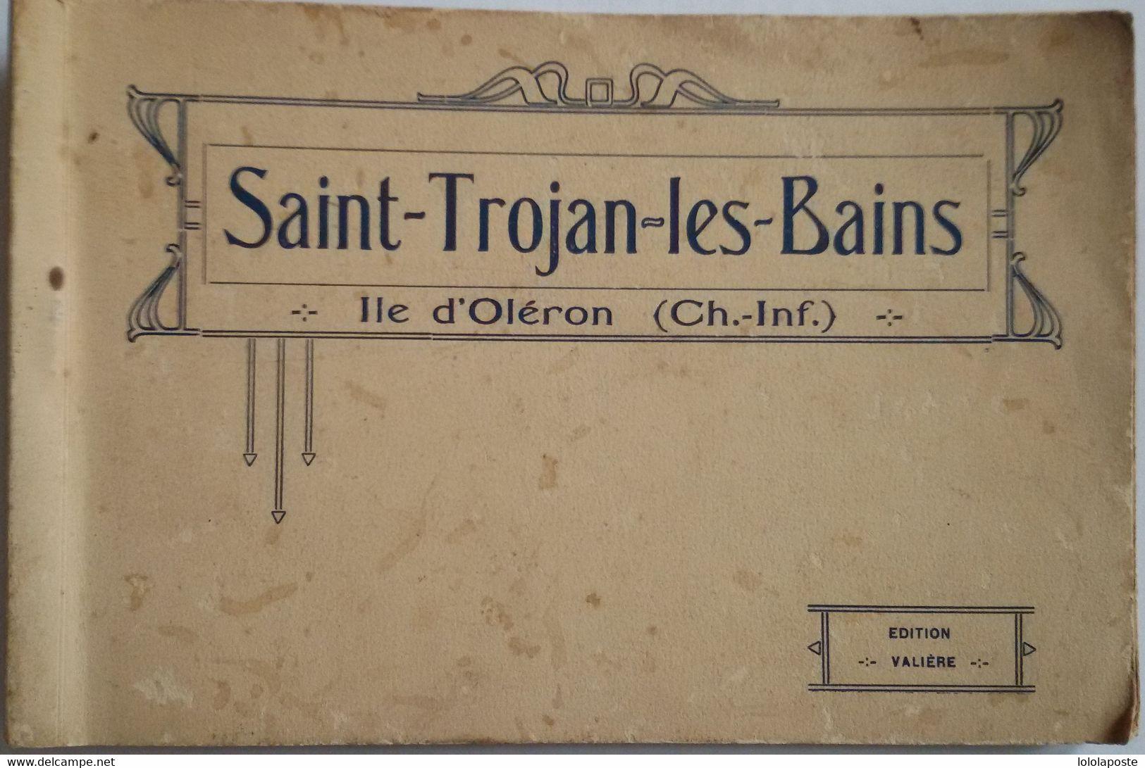 17 - SAINT-TROJAN-LES-BAINS - Carnet Des éditions Valière Format 180X115 Mm Représentant 16 CPA Couleur - 18 Photos - RR - Sonstige Gemeinden