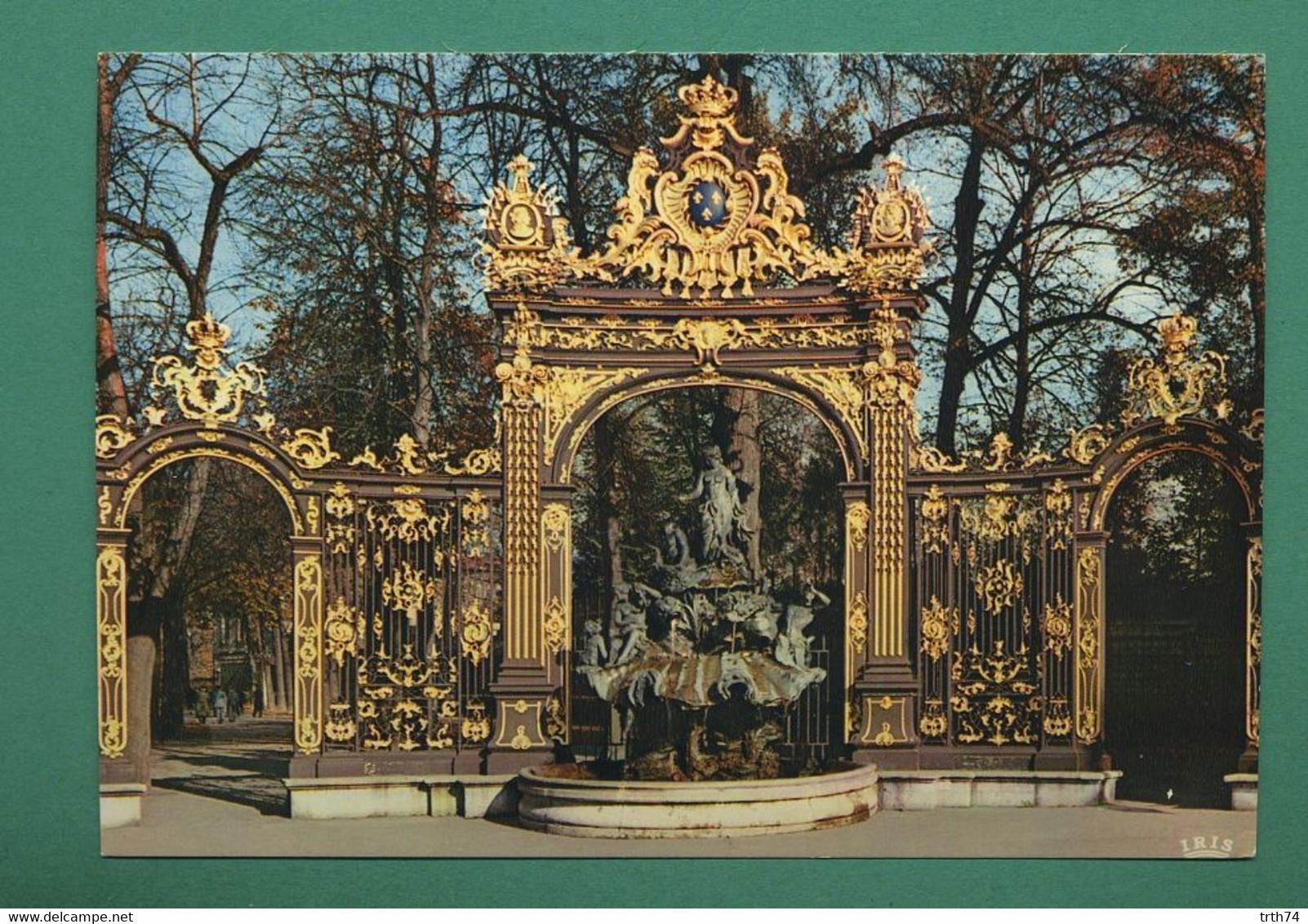 54 Nancy Place Stanislas Fontaine Amphitrite Sculpteur Guibal Grille De Jean Lamour 09 - Nancy