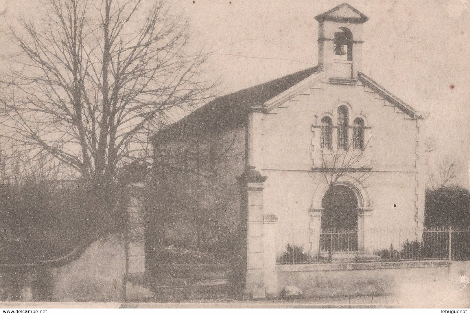 BOUCOIRAN - Le Temple Protestant - Andere Gemeenten