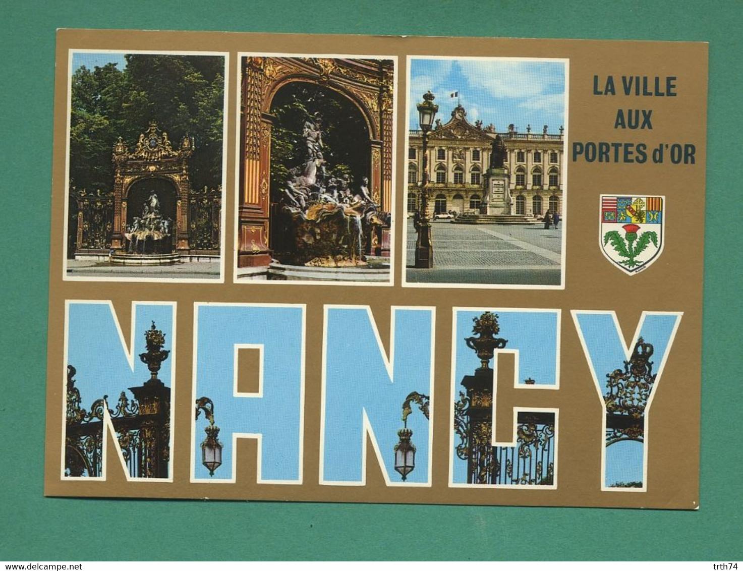 54 Nancy Place Stanislas Fontaine Amphitrite Sculpteur Guibal Grille De Jean Lamour ( Multivues ) 44 - Nancy