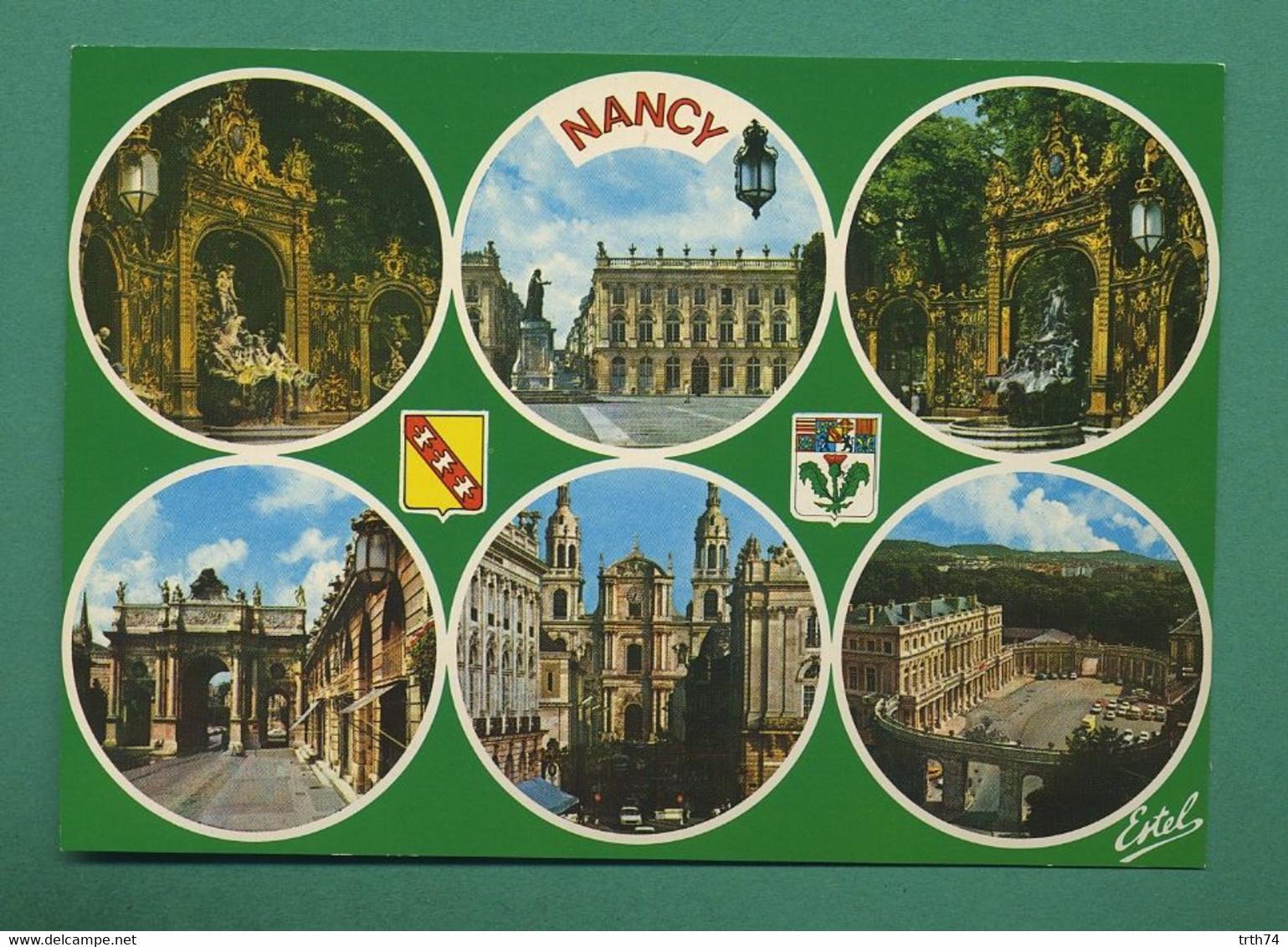 54 Nancy Place Stanislas Fontaine Amphitrite Sculpteur Guibal Grille De Jean Lamour ( Multivues ) 47 - Nancy