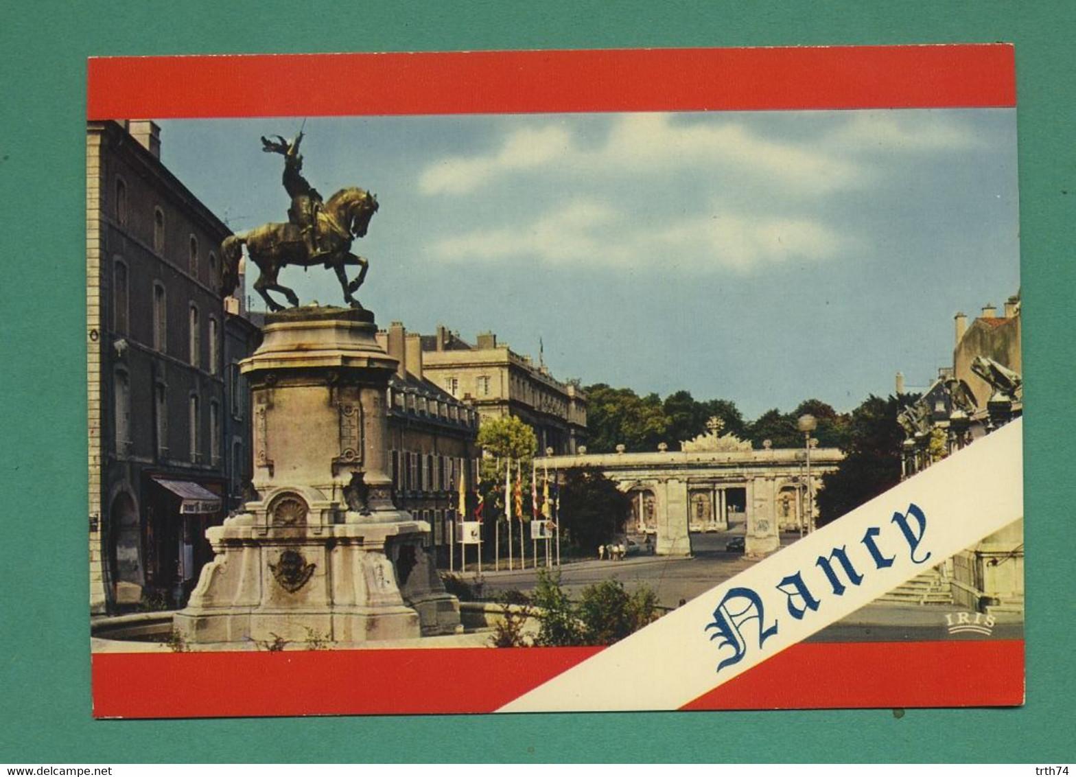 54 Nancy Statue équestre De René II ( Multivues, Coquille, Shell )  52 - Nancy