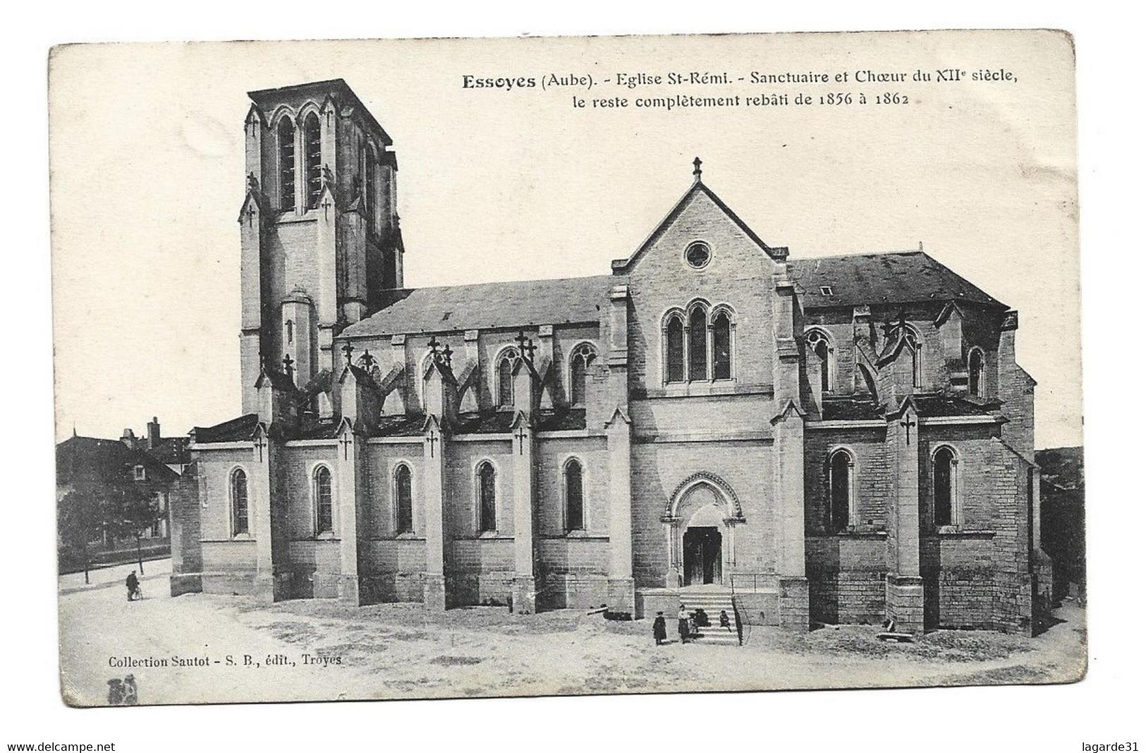 10 Aube ESSOYES Eglise St Saint Remi - Essoyes