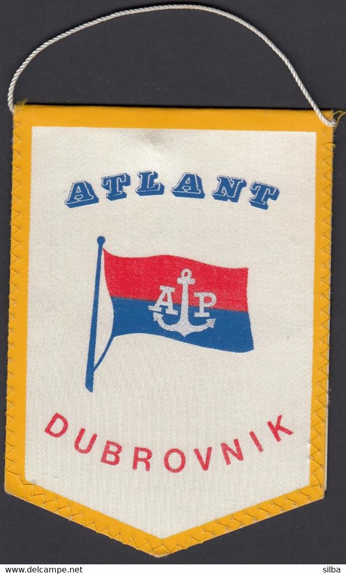 Croatia / Atlantska Plovidba Dubrovnik, Atlant, Shipping Company / Flag, Pennant - Otros