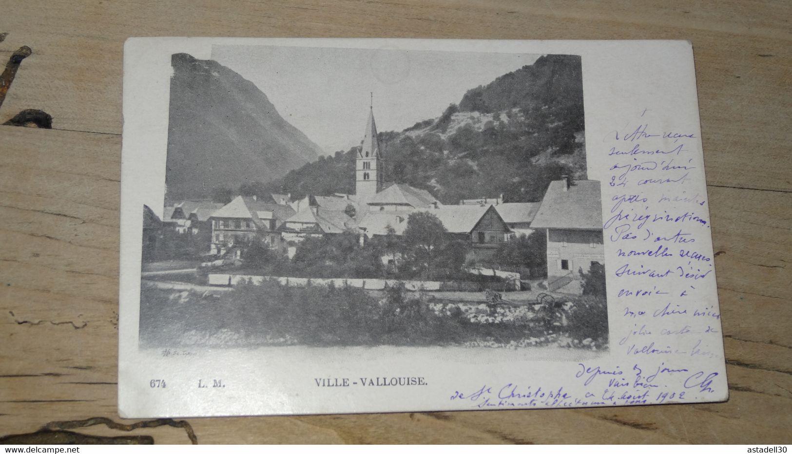 VILLE VALLOUISE ............. 201101d-3935 - Andere Gemeenten