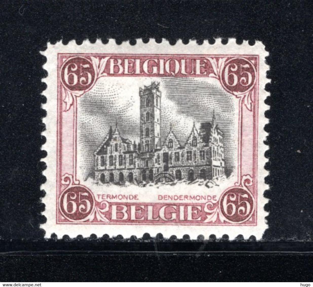 182A MNH 1920 - Stadhuis Van Dendermonde - Ongebruikt