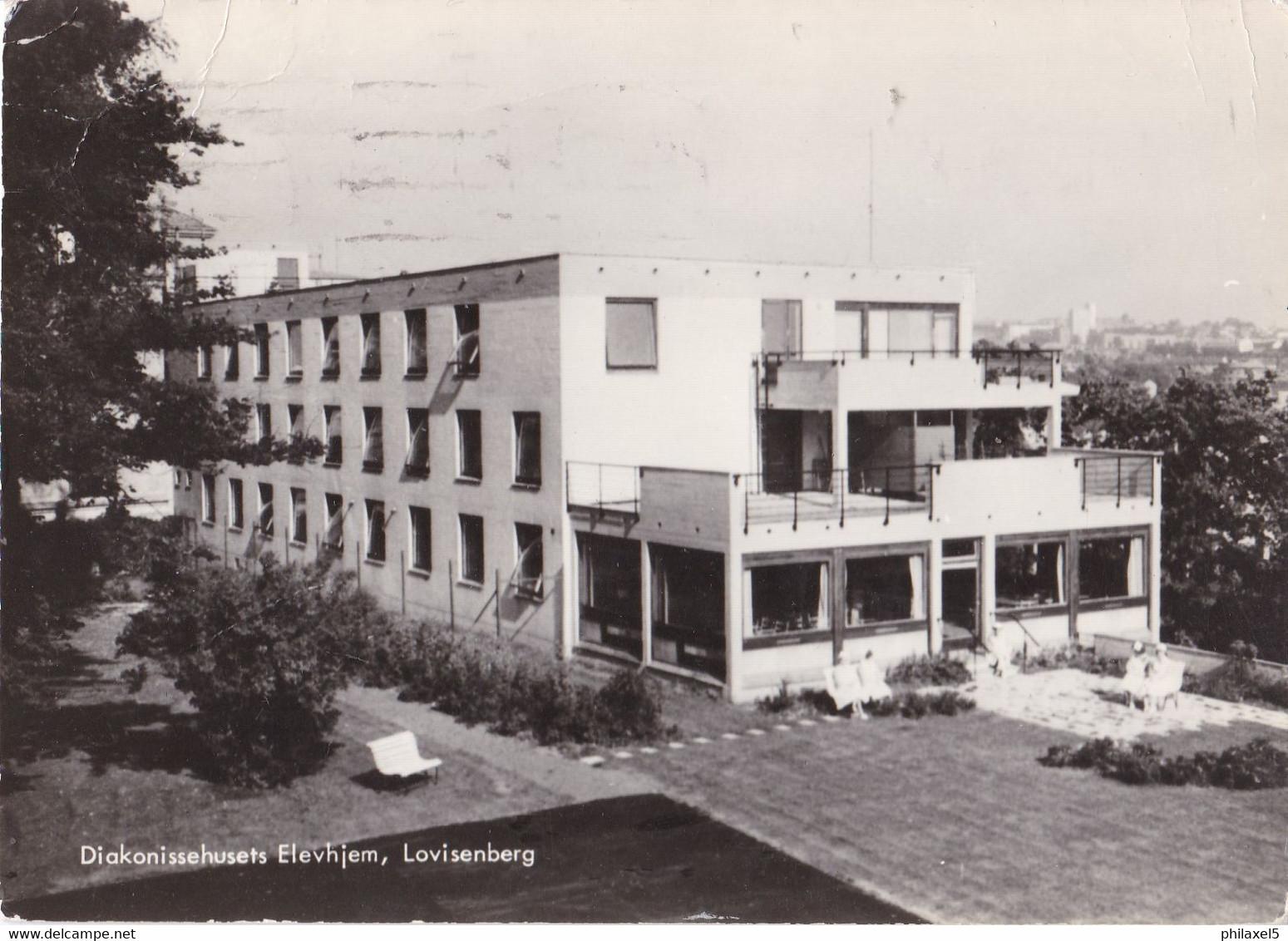 Noorwegen - Oslo - Lovisenberg - Diakonissehusets Elevhjem - Zwart/wit - Gebruikt - Norway