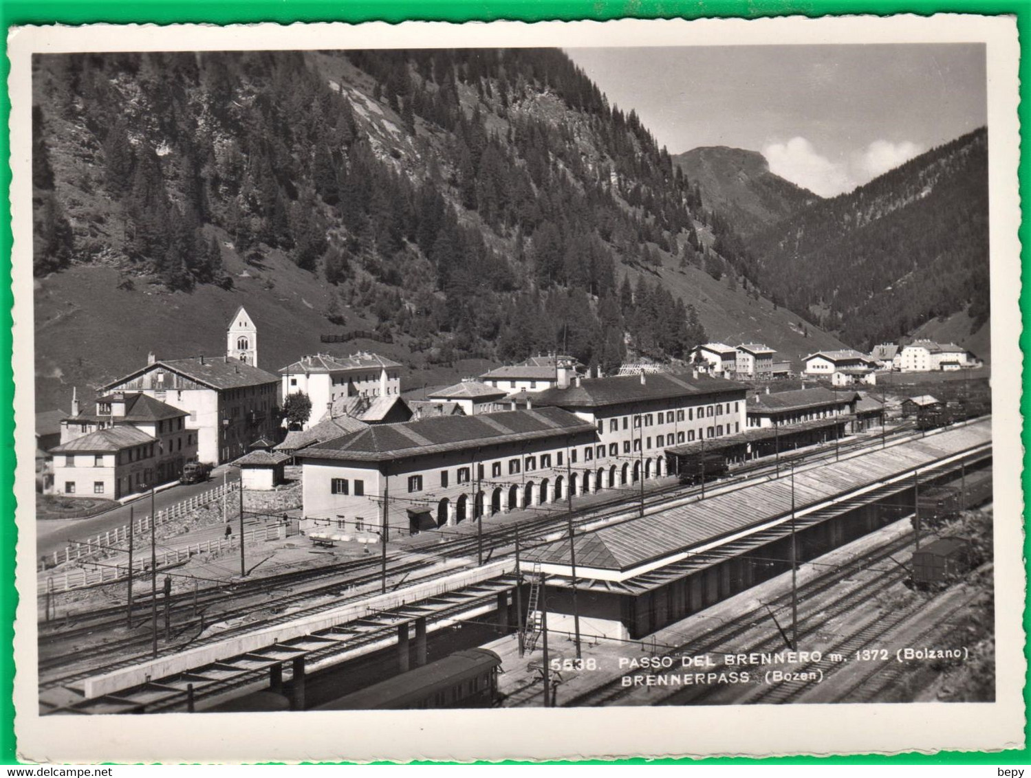 Stazione. BRENNERO. Bolzano. Treno. Ferrovia. 2st - Bolzano (Bozen)