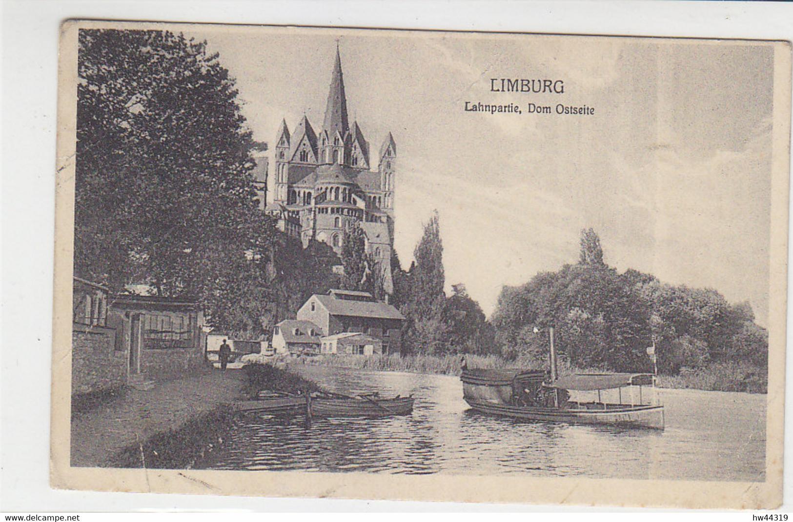 Karte Aus LIMBURG (LAHN) BAHNHOF 1.12.12. AK-Limburg / Knickke - Cartas