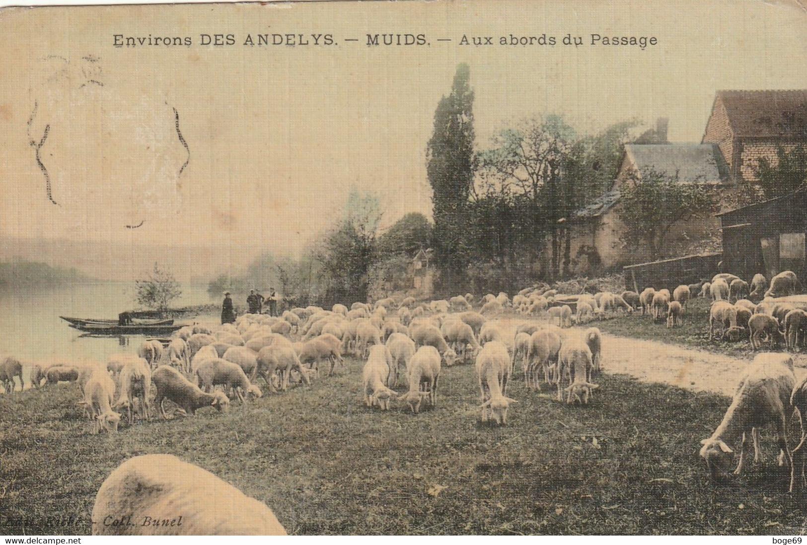 (DU 02) EURE ,environs DES ANDELYS ;  MUIDS - Autres Communes