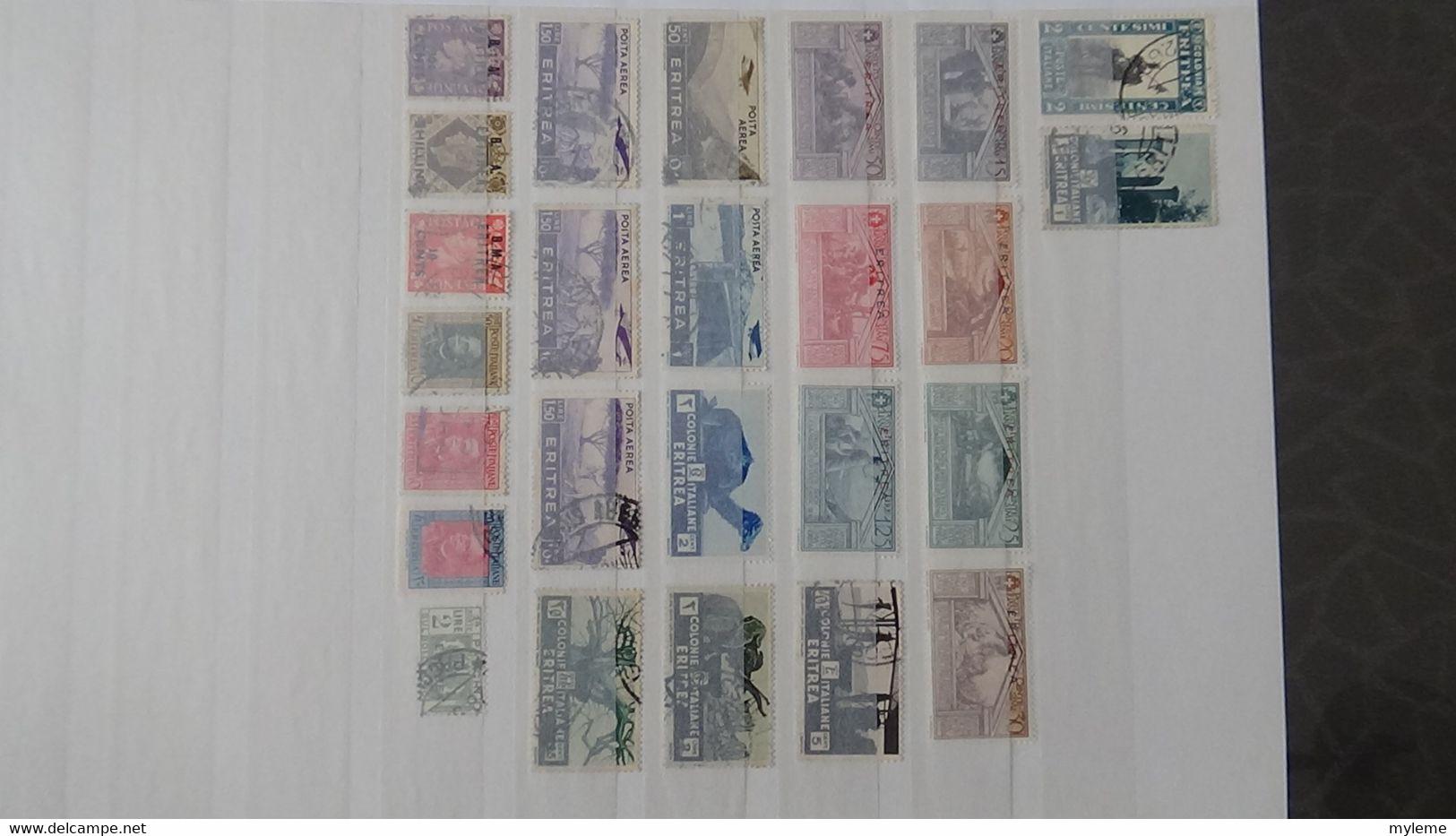 S91 Collection De Timbres Oblitérés De Différents Pays. Idéal Pour Combler Les Thématiques.  A Saisir !!! - Sammlungen (im Alben)
