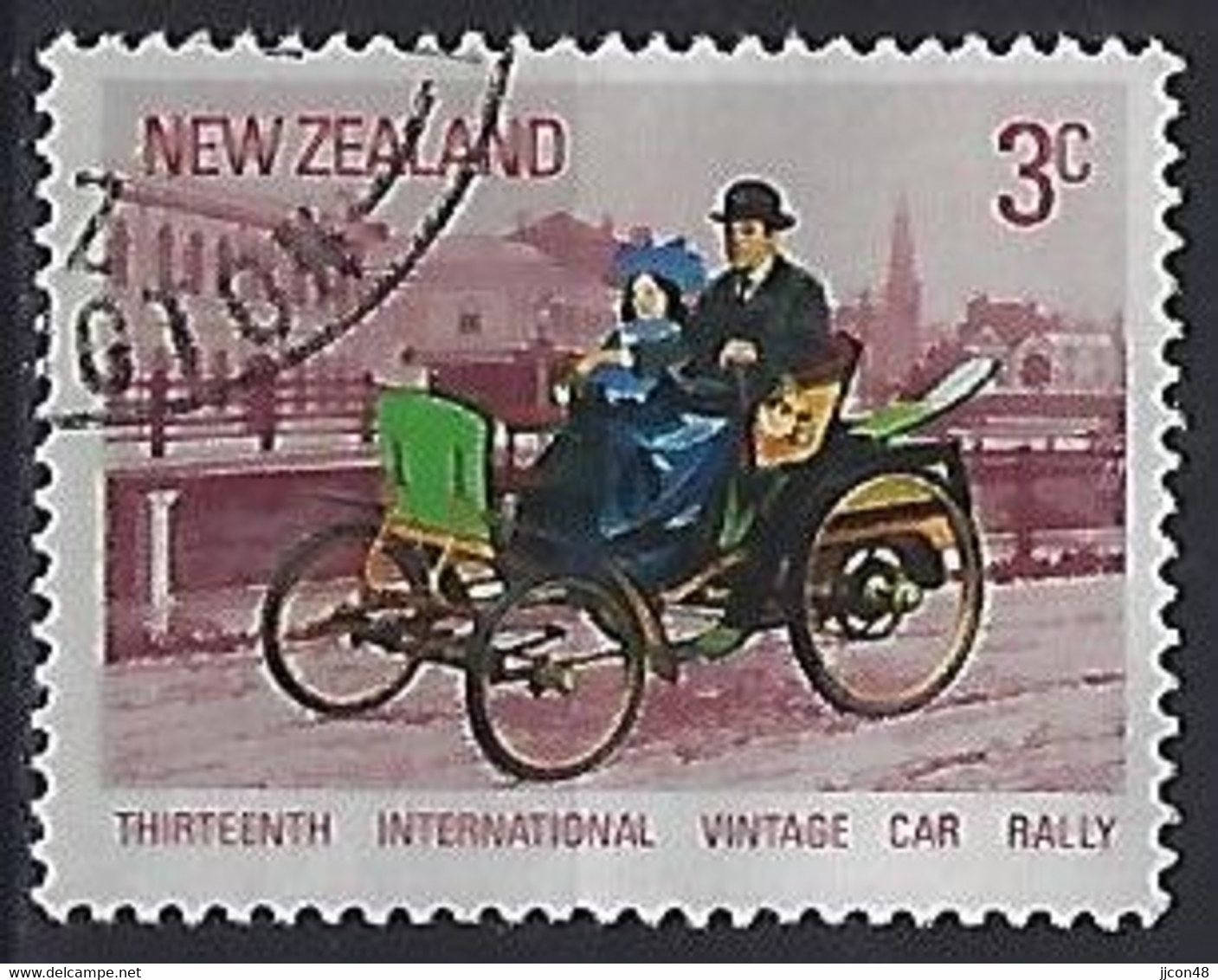 New Zealand 1972  Vintage Cars; Benz  (o) ACS.482 - Gebraucht