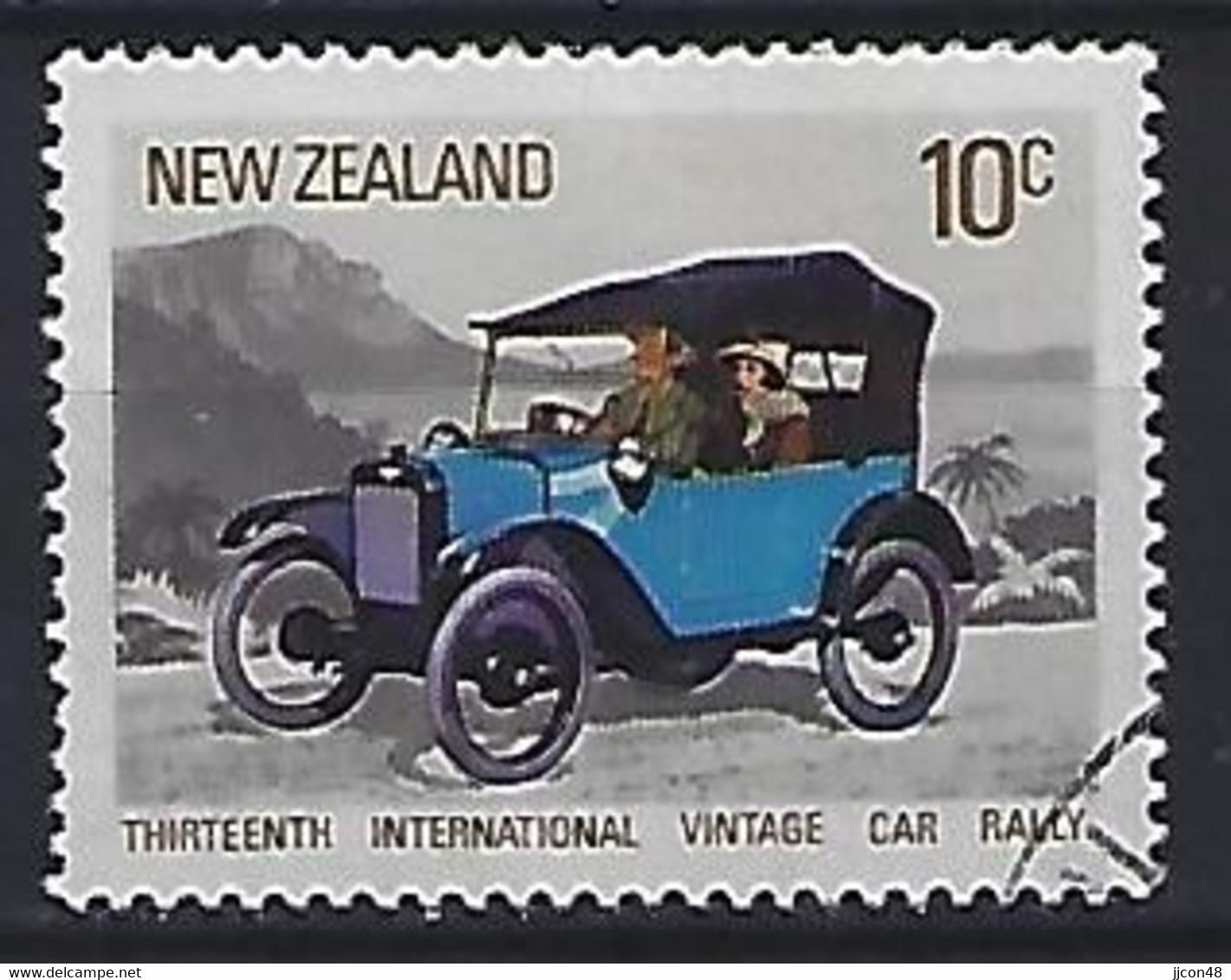 New Zealand 1972  Vintage Cars; Austin  (o) ACS.487 - Gebraucht