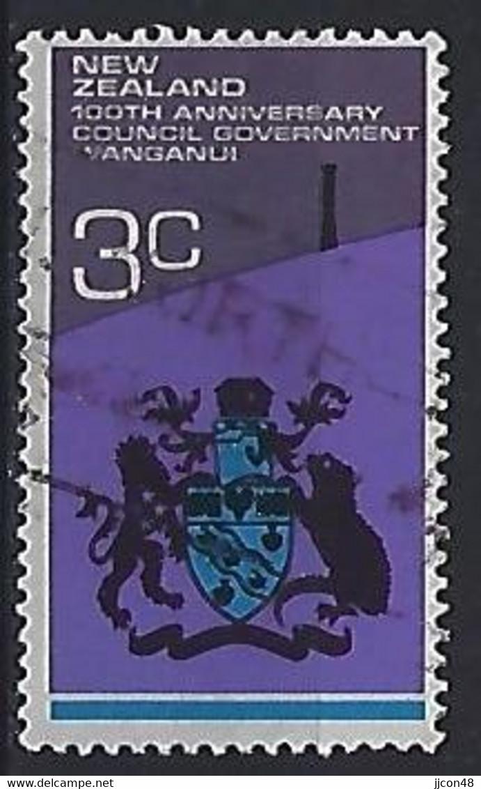 New Zealand 1972  Centenary Of Wanganui Council  (o) ACS.488 - Gebraucht