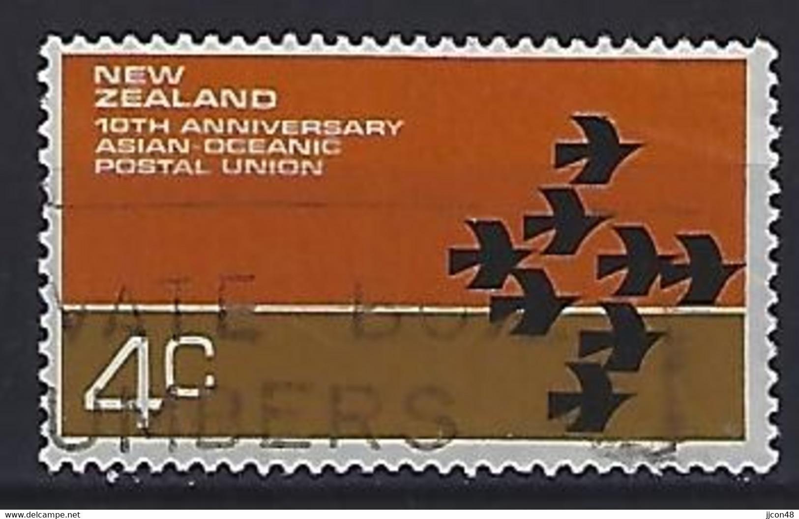 New Zealand 1972  Centenary Of AOPU  (o) ACS.489 - Gebraucht