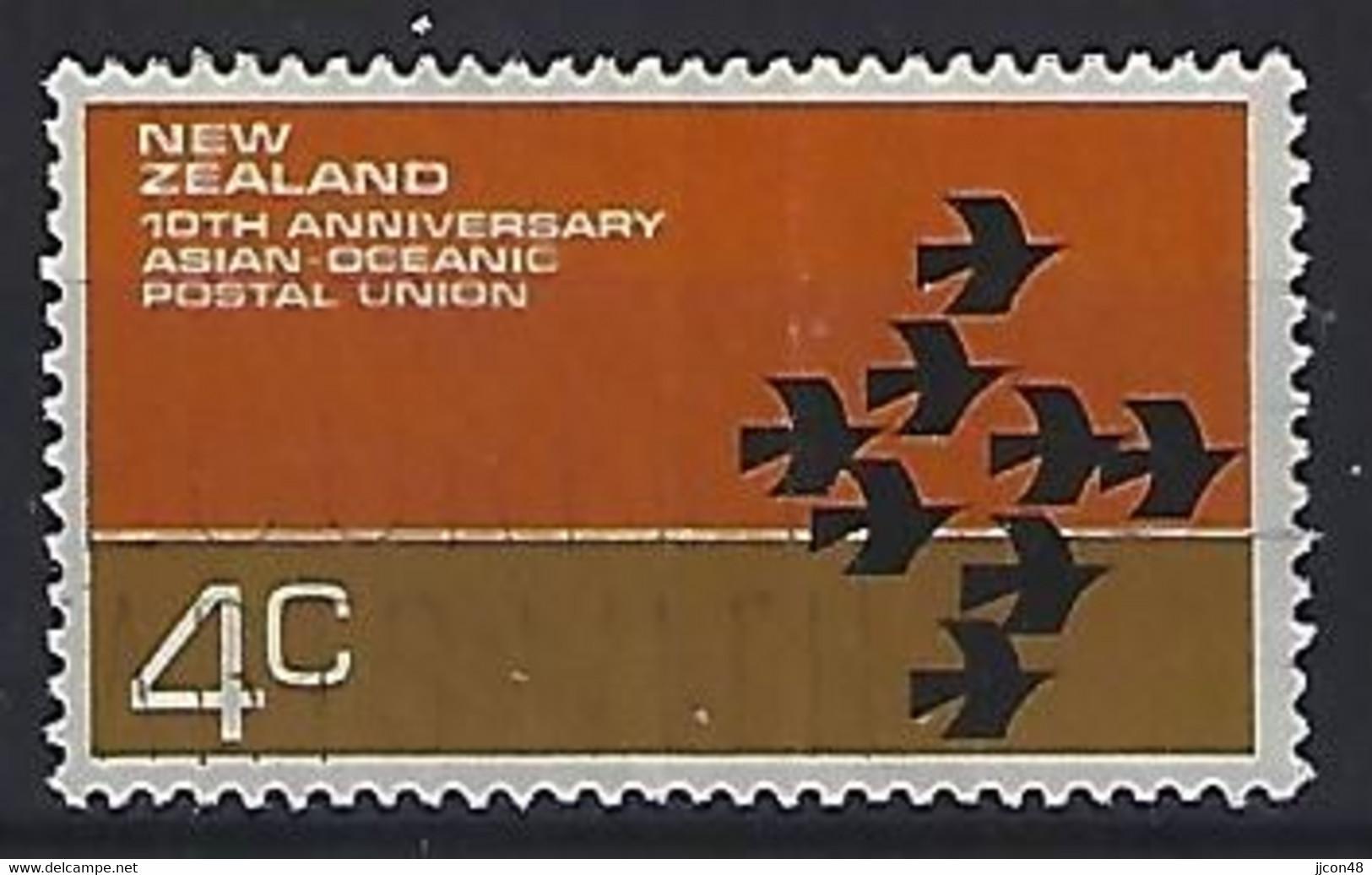 New Zealand 1972  Centenary Of AOPU  (o) ACS.489 - Usati
