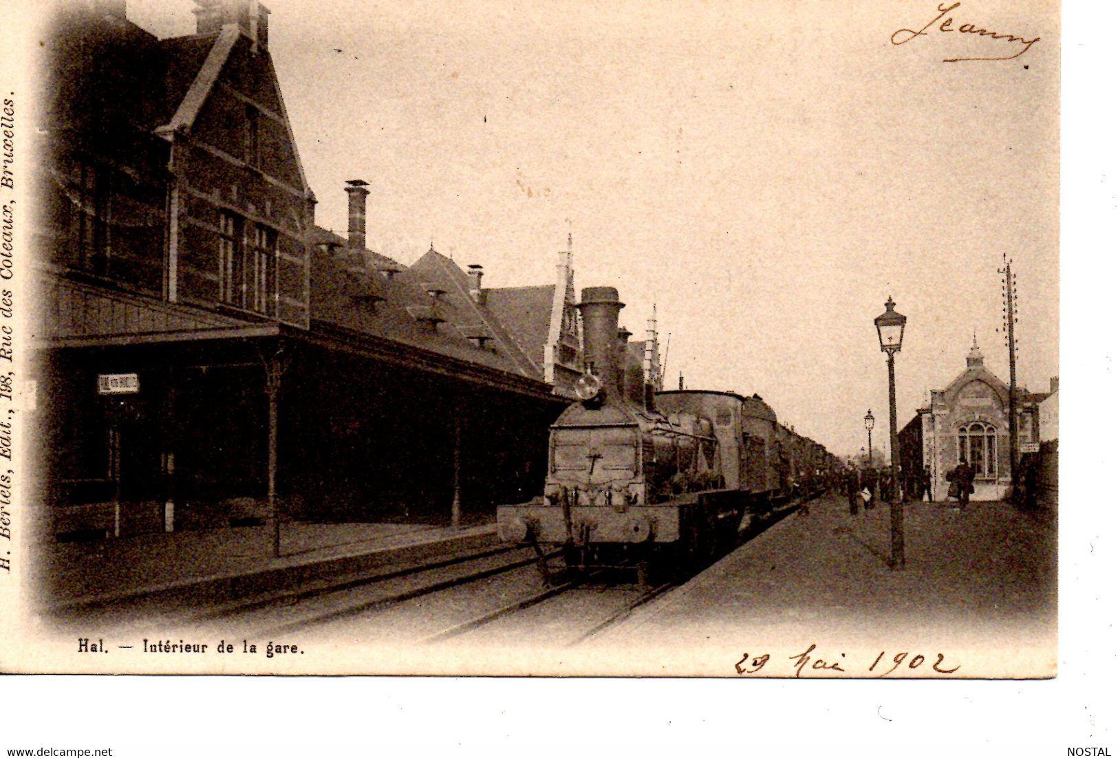 Hal: Intérieur De La Gare - Halle